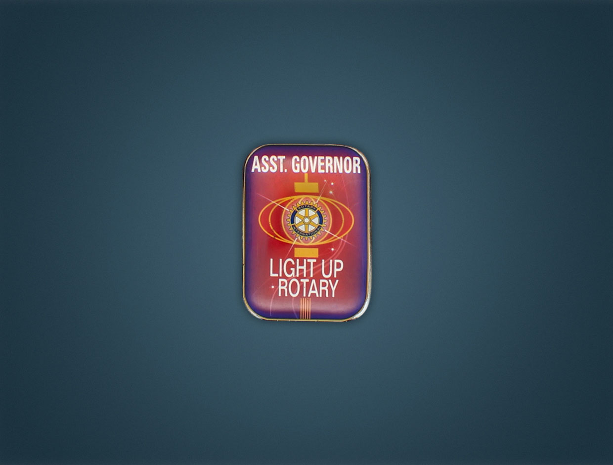 Rotary 2014 Theme Assistant Governor Lapel Pin