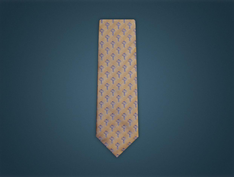 Rotary 2014 Theme Tie - SILK WOVEN