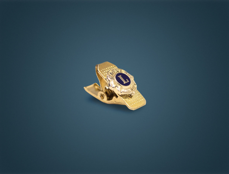 Lions Member Pocket Clip