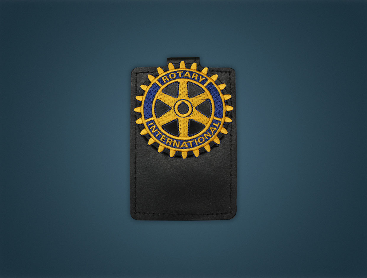 Rotary Emblem - Magnetic Pocket Badge