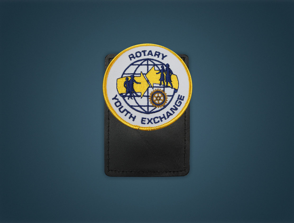 Rotary Youth Exchange - Magnetic Pocket Badge