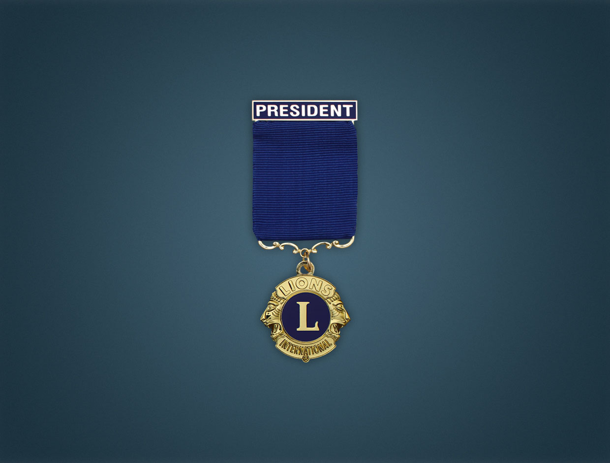 Lions Deluxe Designations Medal