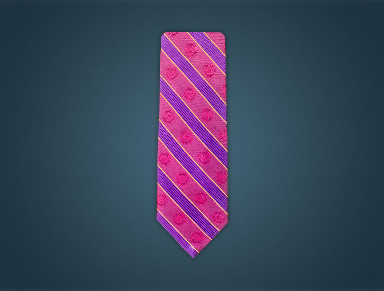 Rotary Silk Tie