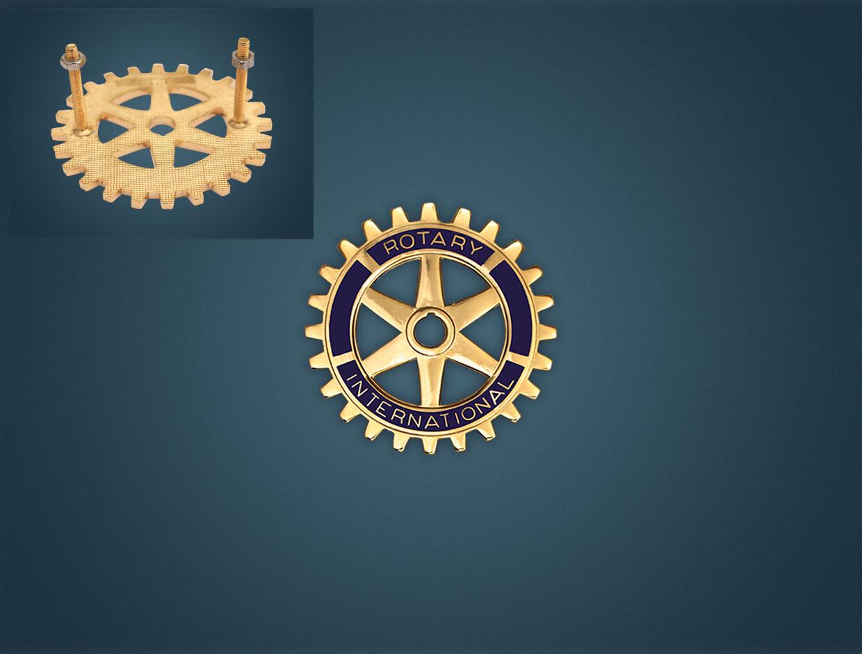 Rotary Car Medal