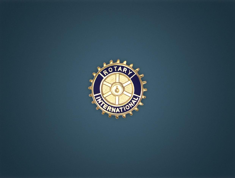 Rotary Member Pin (Out Cut Emblem)