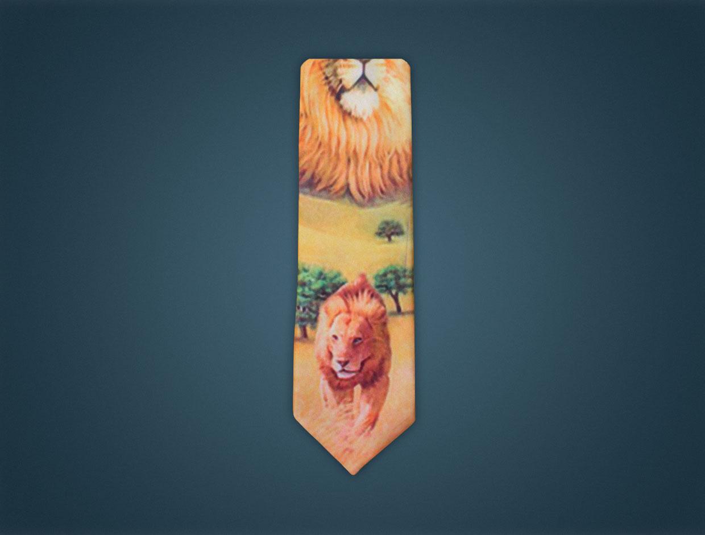 Lions Tie