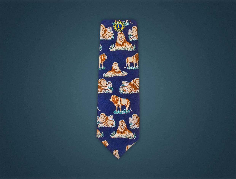 Lions Silk Tie