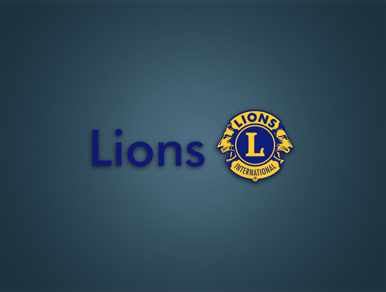 Lions Brooch