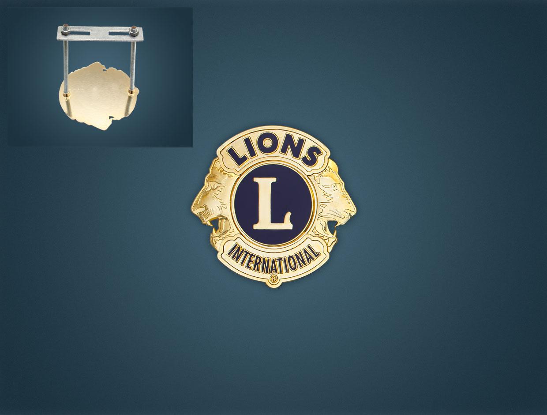 Lions Car Medal