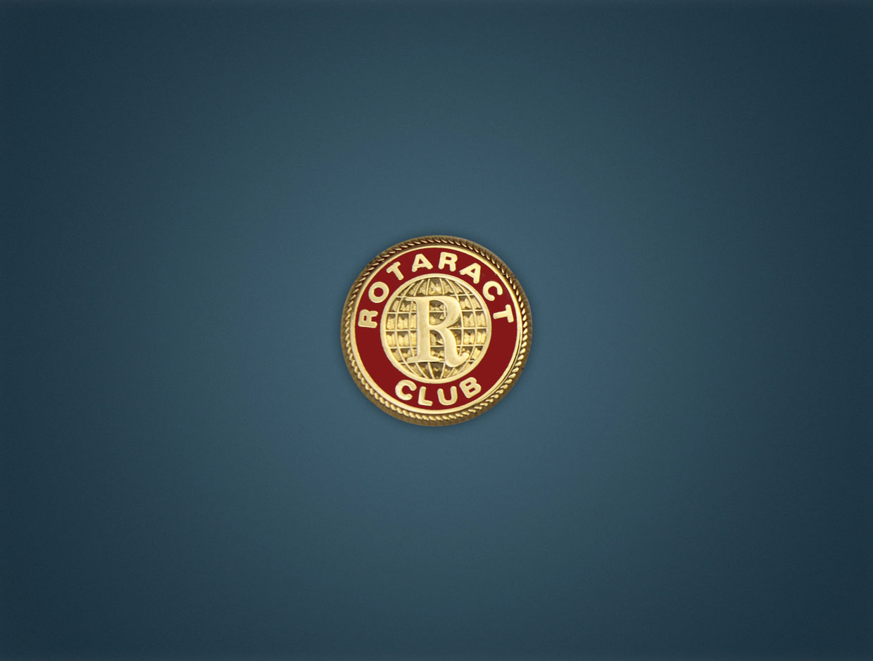 Rotaract Member Pin
