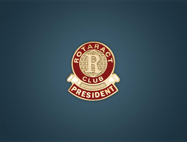 Rotaract Designations Lapel Pins