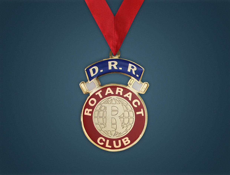 Rotaract Designation Collars