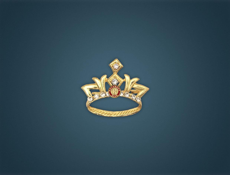 Rotaract Brooch