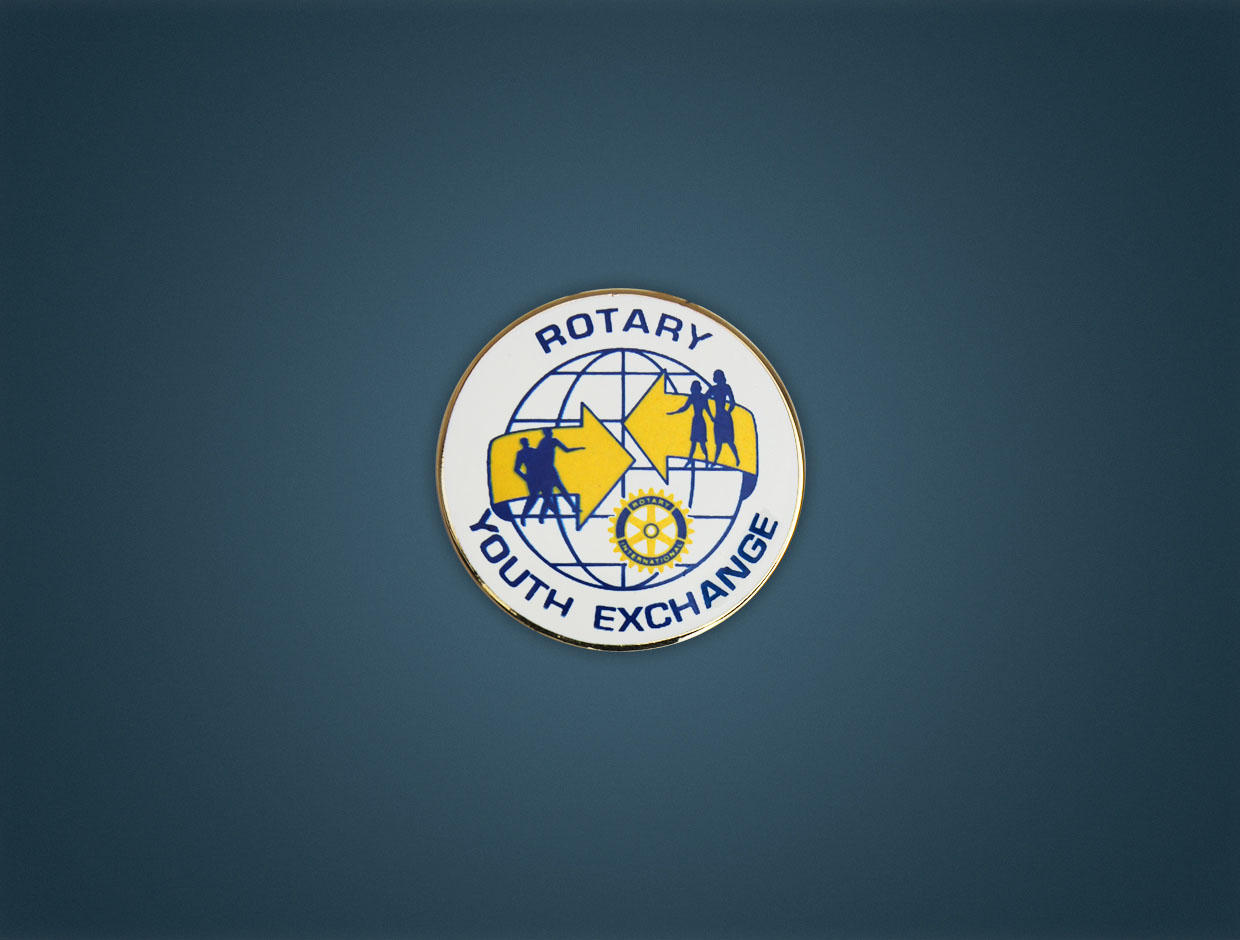 Rotary Youth Exchange Lapel Pin