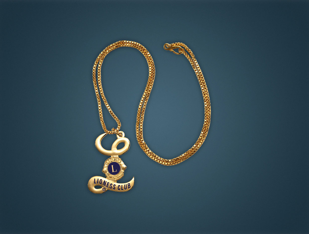 Lioness Medalation Chain