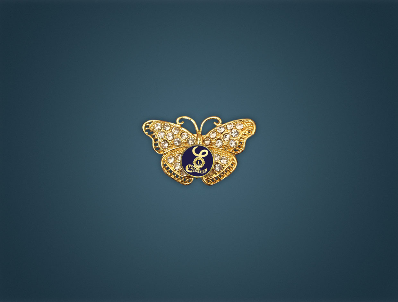 Lioness Brooch