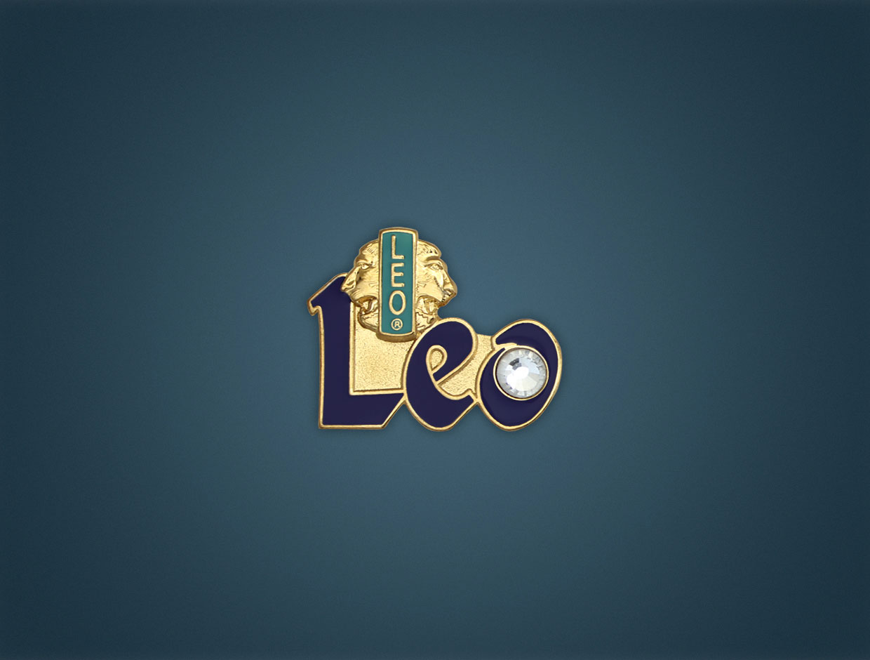 Leo Member Pin