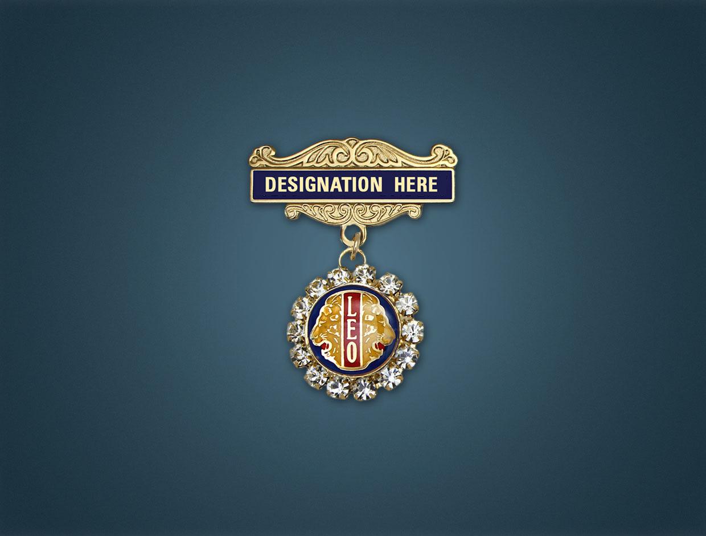 Leo Stone Designations Lapel Pins