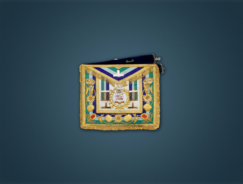 Grand Lodge R.W. Apron (GLI)