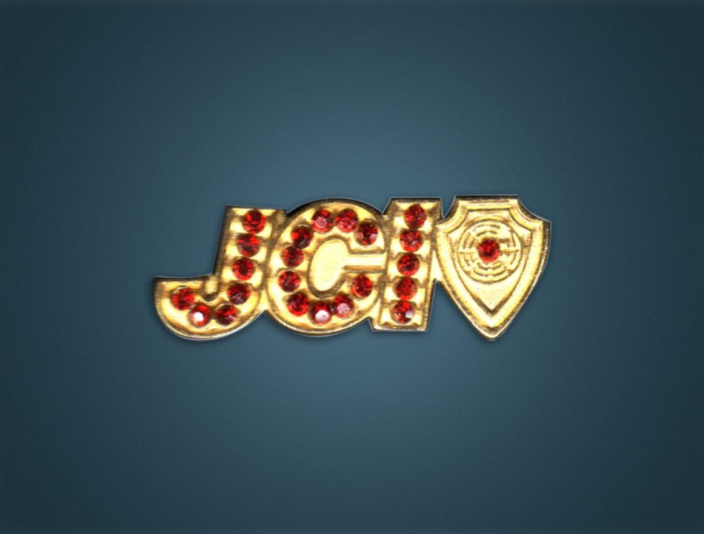 JCI Stone Member Lapel Pin