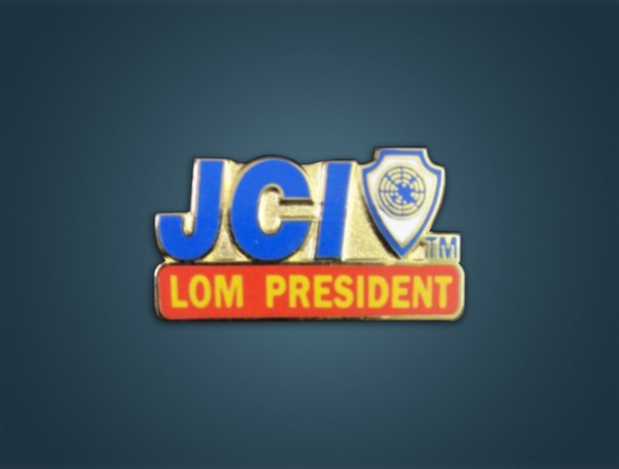 JCI Designations Pocket Clip
