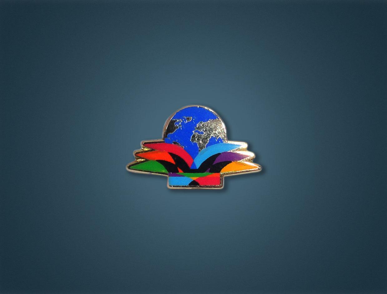 Rotary 2015-16 Theme Lapel Pin