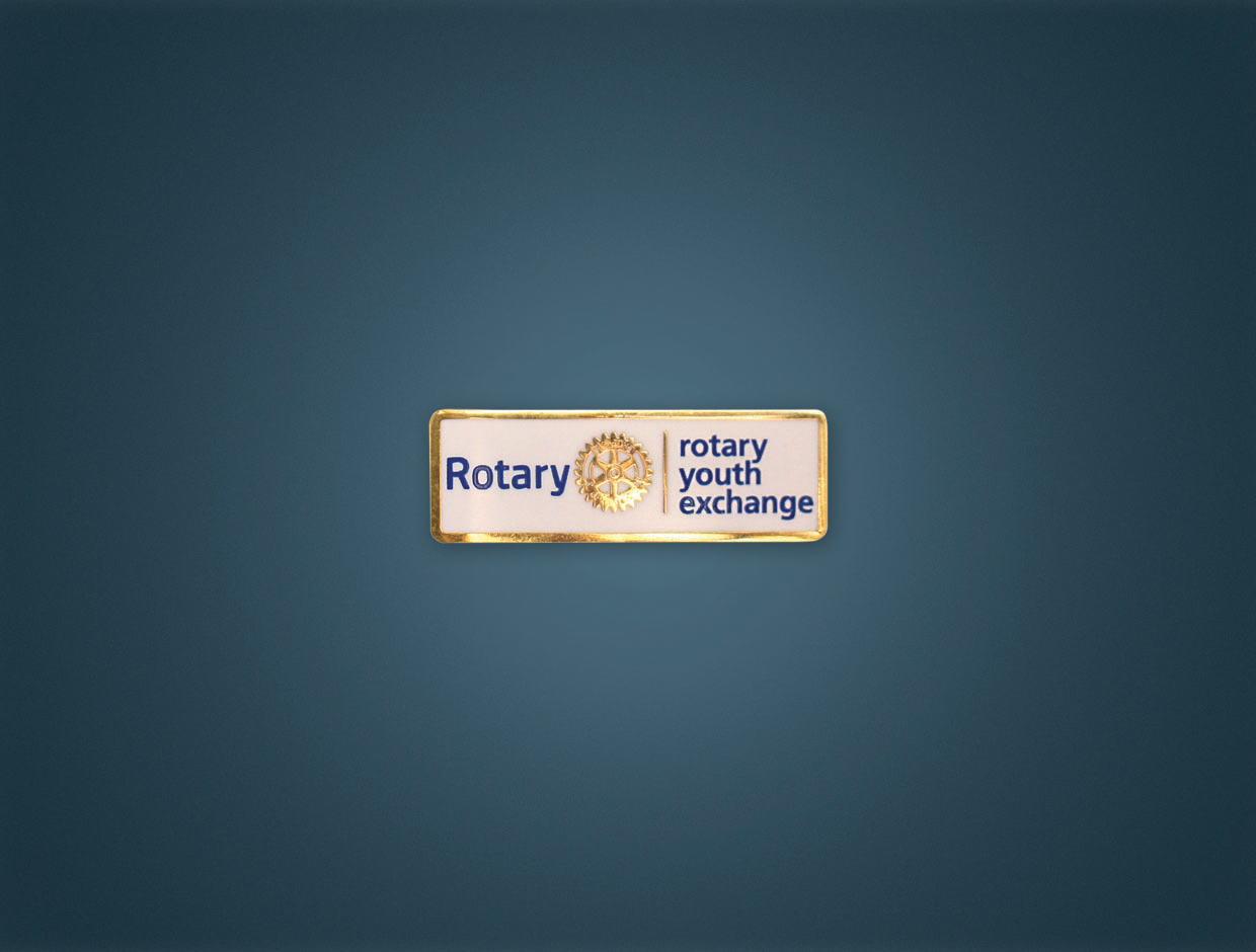 NEW Rotary Youth Exchange Lapel Pin