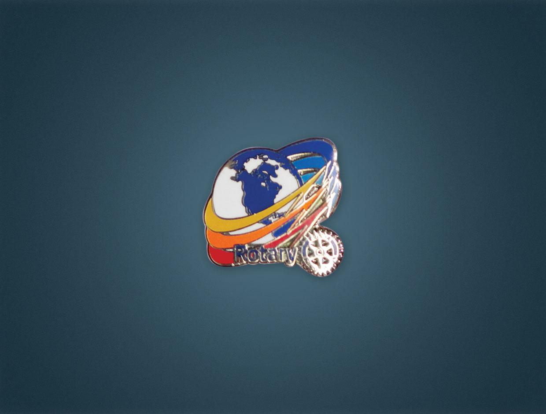 Rotary 2016-17 Theme Lapel Pin