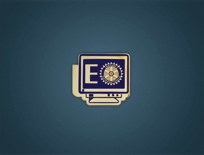 Rotary E-Lapel Pin