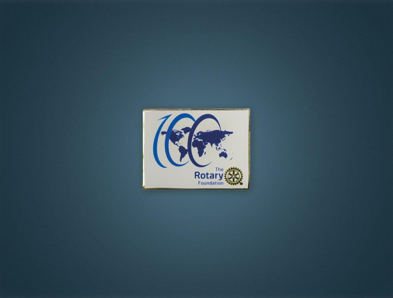 NEW Rotary Foundation Centennial Lapel Pin