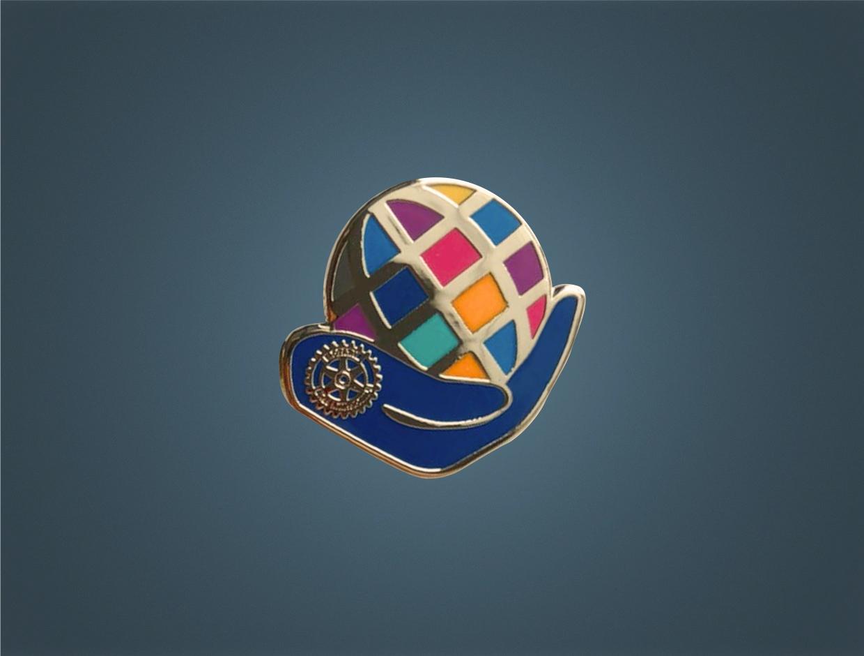 Rotary Theme 2021-22 Gold Member Pin
