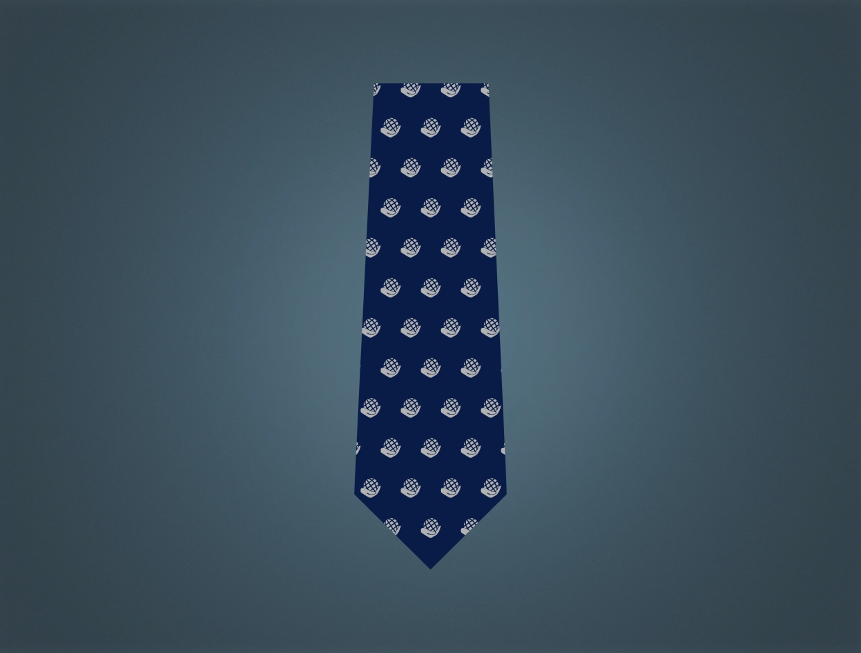 Rotary Theme 2021-22 Silk Woven Tie