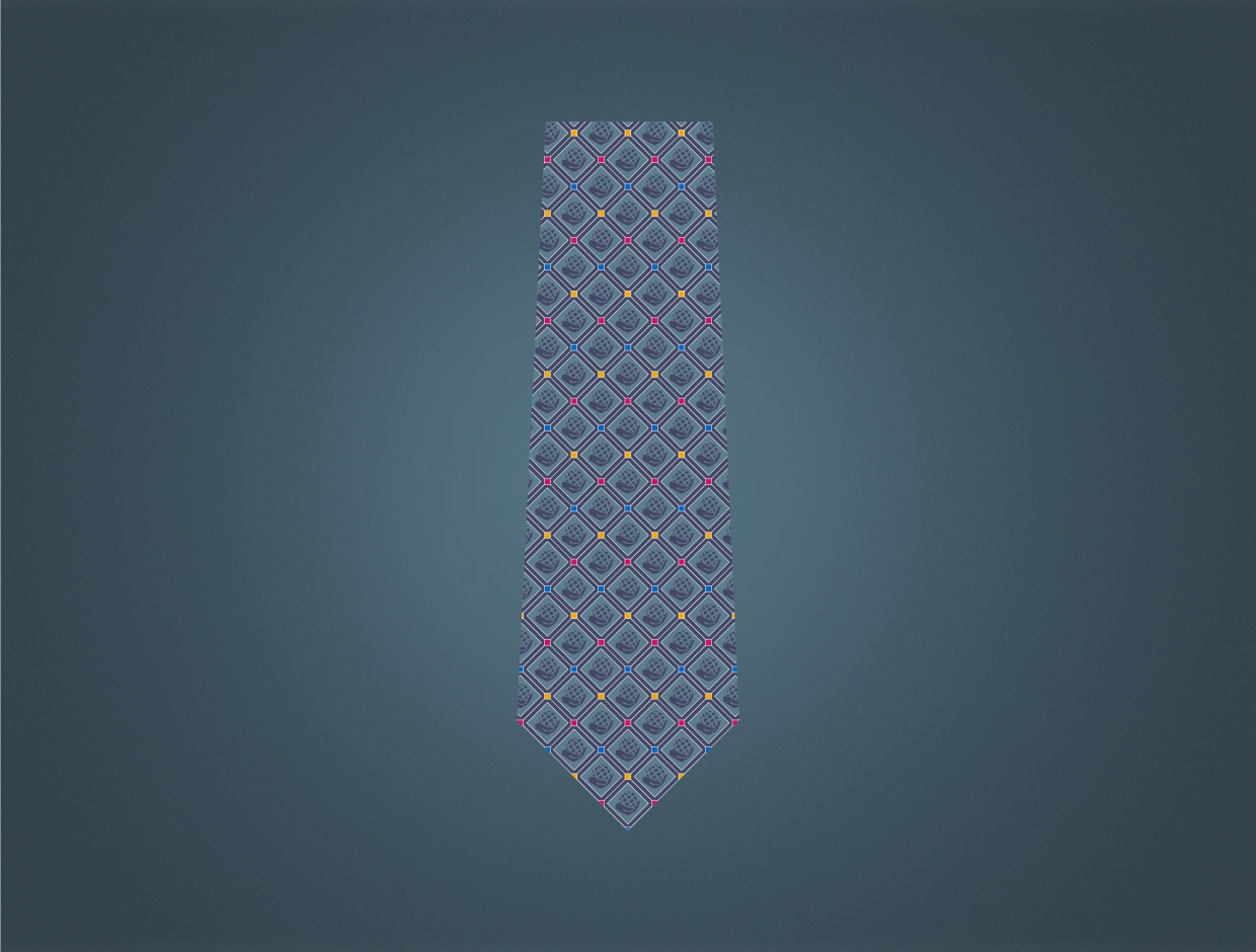 Rotary Theme 2021-22 Polyester Tie
