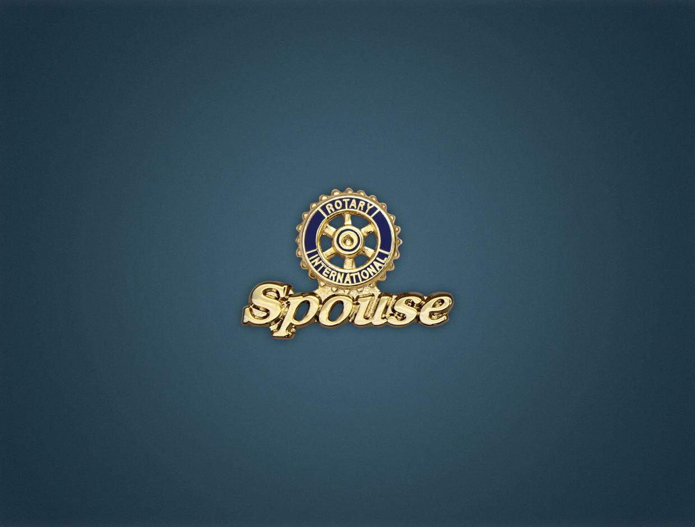 Rotary Spouse Lapel Pin