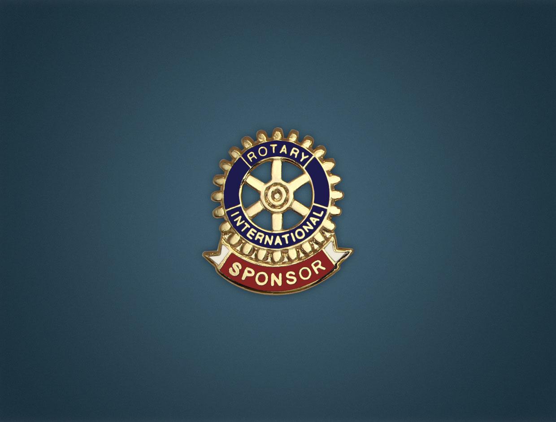 Rotary Sponsor Lapel Pin