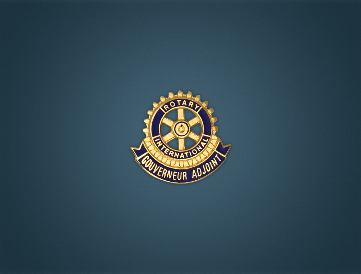 Rotary Governeur Adjoint Lapel Pin