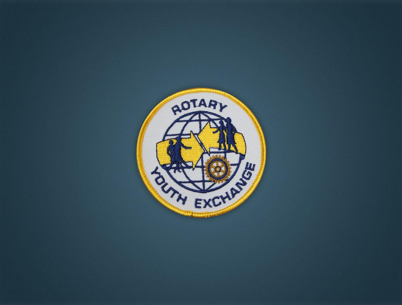 Rotary Youth Exchange - Iron On Badge