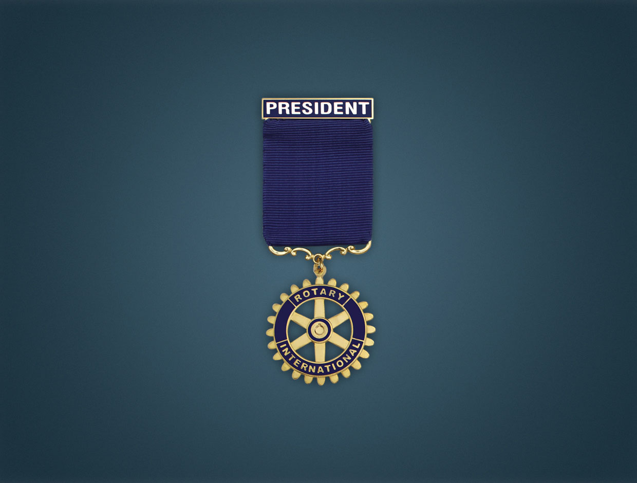 Rotary Deluxe Designation Medals