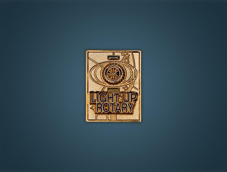 Rotary 2014 Theme Lapel Pin